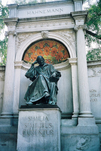 "Samuel Hahnemann Monument, Washington D.C. ""Similia Similibus Curentur"" - Like cures Like"
